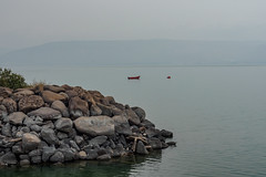 Around Tiberius E4090008_03 (tony.rummery) Tags: boat em10 galilee israel landscape mft microfourthirds omd olympus rocks seascape tiberius tverya northdistrict il