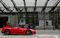 Ferrari F12 Berlinetta (kurzew) Tags: koenigsegg ccx car super sexy exotic hyper mega supercars exoticcars hypercars megacars kurzew kurzweg grzegorz ferrari red fxx race vehicle sports sport auto racing outdoor blue livery f12 berlinetta 250gto gto worldcars england uk london