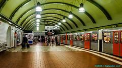 Hamburg, Germany: Hauptbahnhof Süd Station, Line U-3 (nabobswims) Tags: de deutschland germany hamburg hauptbahnhof hochbahn lightroom lineu3 metro nabob nabobswims sonya6000 station subway ubahn selp1650