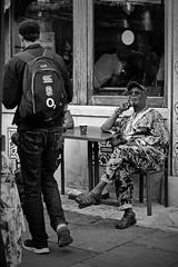 dress code (Dirty Thumper) Tags: sony nex nex5n mirrorless minolta md zoom 3570mm legacy manual monochrome bw street portobello market london brexit sonyphotographing
