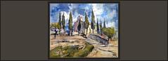 TORRE DEL COMPTE-PINTURA-ARTE-MATARRANYA-PAISATGES-PUEBLOS-PAISAJES-TERUEL-MATARRAÑA-ERMITA-SANT JOAN-ERMITAS-PINTURES-ARTISTA-PINTOR-ERNEST DESCALS (Ernest Descals) Tags: torredelcompte pintura art arte artwork pinturas pintures quadres cuadros cuadro pintar pintando ermita santjoan emites hermitage ermitas paisajes paisatges espirituales espiritualidad cipreses landscape landcaping matarranya matarraña teruel terol franja aragon españa spain village poble pobles pueblo pueblos paisaje paisatge pintor pintors comarca pintores ernestdescals plastica plasticos artistes artistas paz painter paint pictures painters paintings painting lugares spiritual