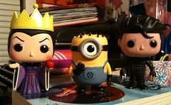 138/365 New Funko Pops :) (imakeitcute) Tags: edwardscissorhands minion evilqueen dallascomiccon funkopop uploaded:by=flickrmobile flickriosapp:filter=nofilter tryingthis365thing