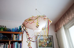 Sleepover (essisofia) Tags: lamp finland europe decoration may ceiling traveling kouvola kuusankoski 2013 fujifilmx100