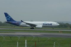 Air Transat A330 (Michaeld91) Tags: a330 manchesterairport airtransat cgits
