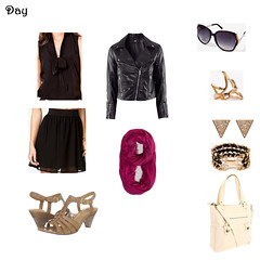 Day Outfit (midwesternrose) Tags: bag spring outfit ring clothes bracelet heels earrings outfits