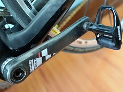 SRAM Red Crankset (gerreeeeee) Tags: road red macro bike bicycle zeiss dof im bokeh sony philippines ironman carl micro manila filipino f2 tt pinay filipina carbon fiber triathlon aura sl2 pinoy specialized roubaix sonnar sram 3t aerobar rx1