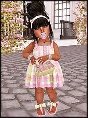 KaeLMRCSpringPlaid (Tkaela) Tags: secondlife wackywednesday metaverse virtualworlds kidfashion childfashion childavatars kidavatars littlemonstersrubyscloset
