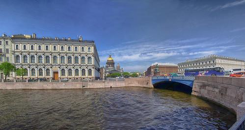Saint Isaac's Square. Saint-Petersburg. Исаакиевская площадь. Санкт-Петербург ©  Peer.Gynt