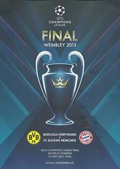 Borussia Dortmund v Bayern Munich 20130525 (tcbuzz) Tags: england london germany munich bayern stadium final munchen uefa league champions wembley programme dortmunt 2013 borrusia