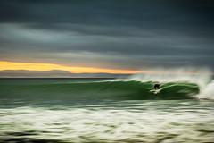 setting it up (laatideon) Tags: sea blur sunrise surf surfer icm panned etcetc intentionalcameramovement laatideon deonlategan