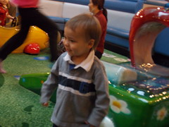 Alex loves Brentwood Playground (Marina A. Miller) Tags: baby alex rain marina mall shopping fun day play rainy burnaby meredith brentwood angelyna tarya