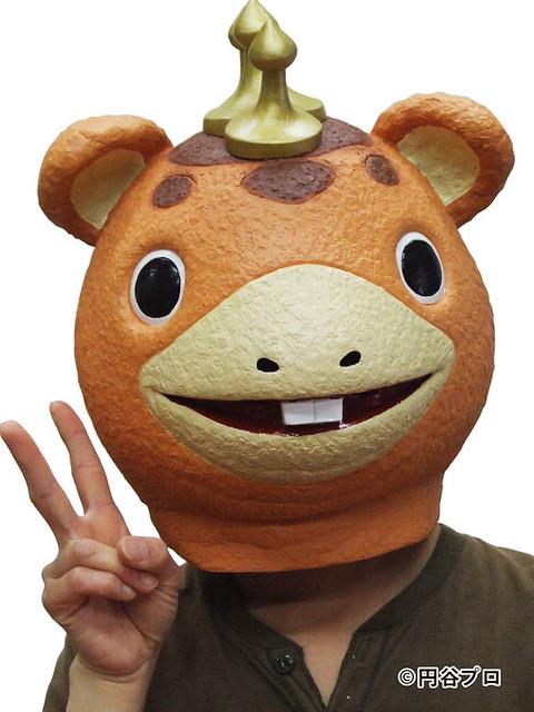 我的怪獸哪有那麼可愛?『快獸布斯卡』面具超Q登場!~