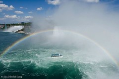 Niagara Falls (shefalidang) Tags: canada water waterfall rainbow niagara falls d7000
