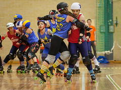 """Stockholm BSTRDs vs. Dock City Rollers-28 • <a style=""""font-size:0.8em;"""" href=""""http://www.flickr.com/photos/60822537@N07/8995162563/"""" target=""""_blank"""">View on Flickr</a>"""