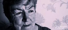My Gran (Alan Rampton) Tags: old portrait woman june duo tone 2013
