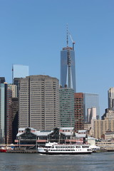 One World Trade Center (shinya) Tags: ship eastriver statuecruises