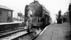 Grantham A1 60119 Patrick Stirling ex pass Harrogate to Kings Cross May 51 JVol6101 (DavidWF2009) Tags: a1 grantham 60119 patrickstirling