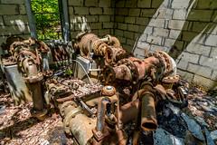 The water pump (photoMakak) Tags: abandoned decay adirondacks ghosttown ruraldecay adirondack adk abandonné rurex villefantome photomakak