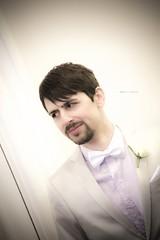 When I married Ian (greekguy29) Tags: wedding portrait selfportrait male london groom bowtie suit photographybyvassilistriantis