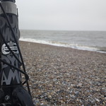 Dunwich Dynamo XXI: bike on the beach thumbnail