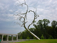 got it! (harvobro) Tags: trip sculpture art museum architecture landscape arkansas grounds bentonville americanart architectmoshesafdie walmartfunded