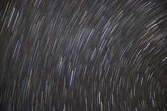 Star Trails over Berryville (marc.benton) Tags: longexposure night stars space astrophotography layers nightsky startrails canon60d