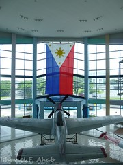 Philippine Flag (Ishmael F Ahab) Tags: airplane philippines philippineflag warplane philippineairforce pafaerospacemuseum