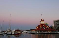 Coronado, California (RebecaAR) Tags: california water boats restaurant bay agua san barcos diego bahia coronado hoteldel rebecaar