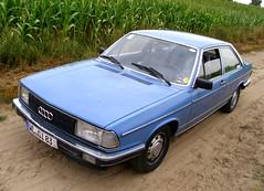 Audi 100 C2 2d 5 L NFL 1981 (Zappadong) Tags: auto classic car automobile 5 nfl voiture coche classics type 1981 l oldtimer 100 audi 2d c2 oldie carshow 43 youngtimer typ automobil oldtimertreffen zappadong
