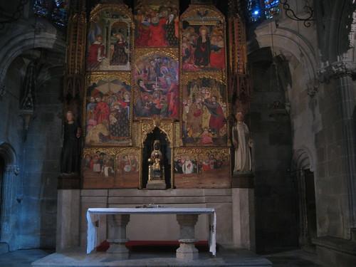 Catedral- Tarragona - capilla de Montserrat