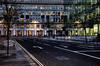 No One Is There (Dimmilan) Tags: street uk windows england urban building london glass architecture modern night twilight cityscape nightlight galleryoffantasticshots