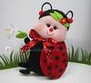 ♥♥♥ A Joaninha... (sweetfelt \ ideias em feltro) Tags: insectos handmade felt jardim ladybug feltro animais handcraft joaninha coccinelle feutrine feitoàmãofaitmain