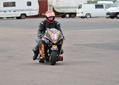 430 (Fast an' Bulbous) Tags: santa autumn england pits bike race drag pod nikon october track power gimp fast sunny strip motorsport santapod qualifying d300s extremebikeweekend