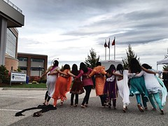 More Bollywood dancers at #myTRU (cjazzlee) Tags: kamloops mytru