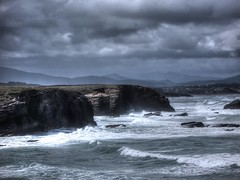 """""""dias de borrasca"""" (ste) Tags: ocean sea storm mar mare cloudy nubes tormenta oceano atlantico tempesta galizia mareggiata heroesdelsilencio praiaascatedrais"""