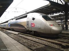 Paris, TGV train