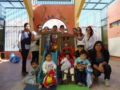 Voluntarias UNAP hicieron regalos a niños de sala cuna Semillitas de Camiña