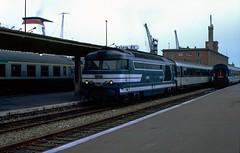 Boat Train R2026 at Calais Maritime. France. 1993.