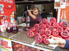 -  (feras2188) Tags: love turkey juice pomegranate istanbul we seller nar     suyu