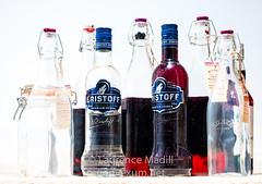 Bottles (Laurencemadill) Tags: lighting bottles flash vodka gin jars sloes flashgun sloegin eristoff kilner strobist strobists sloevodka eristoffuk