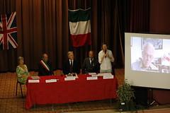 Antonio Millozzi's award ceremony