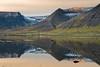 Imperfection (Dani℮l) Tags: sun mountain snow reflection ice rock sunrise landscape mirror iceland europe farm daniel peaceful calm serene desolate landschap westfjords d600 bosma önundarfjörður flateyri