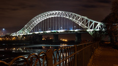 SAM_6681 (Neil MacG) Tags: bridge architecture night unitedkingdom merseyside runcornwidnesbridge