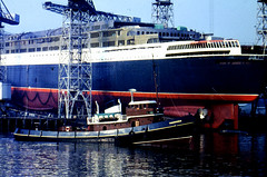 Image titled QE2 Launch Day September 20th 1967