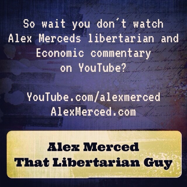 Share to promote #libertarian #activist Alex Merceds videos