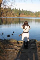 Photo assignment @ Stanley Park (Carlitos) Tags: parque canada sarah vancouver bc britishcolumbia stanleypark