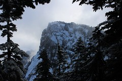 Today's destination (johnwporter) Tags: mountains nature snowshoe climb hiking nationalforest climbing cascades pacificnorthwest snowshoeing wilderness pnw  scramble  scrambling     mtpersis mountpersis   onehikeaweek