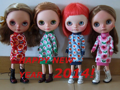 Me and the girls wish you all a VERY HAPPY NEW YEAR!!!