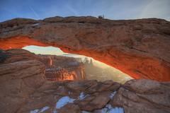 Mesa Arch, Canyonlands NP (Highlandsnapper) Tags: sunrise utah nationalpark sandstone desert erosion canyonlands moab soutwest lasal mesaarch
