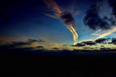 Pacific Sky.. (Bill Humason) Tags: ocean cruise water colors clouds pacific hdr nikond90 nikon1224mmlens 3shotbrkt